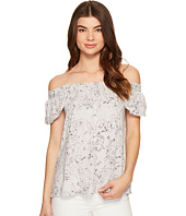 Michael Stars - Floral Print Off the Shoulder Tee