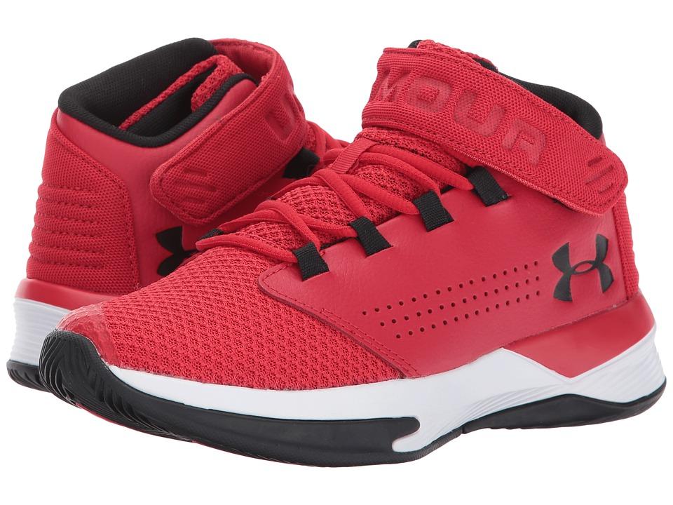 Under Armour Kids UA BGS Get B Zee Basketball (Big Kid) (Red/White/Black) Boys Shoes