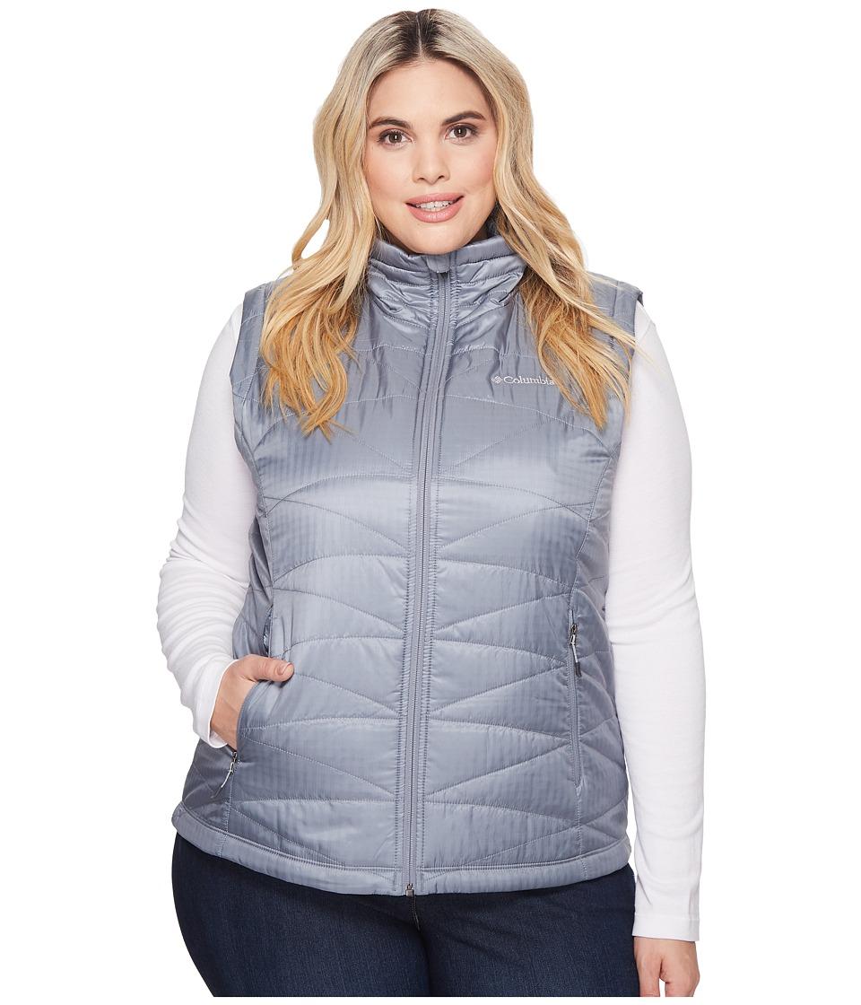 Columbia Plus Size Mighty Litetm III Vest (Grey Ash) Women