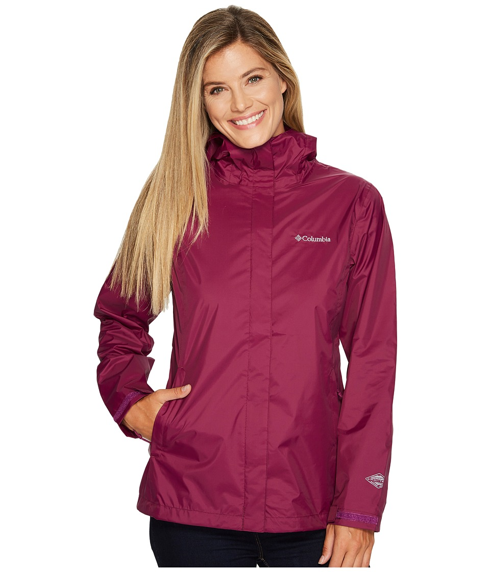Columbia Arcadia IItm Jacket (Dark Raspberry) Women