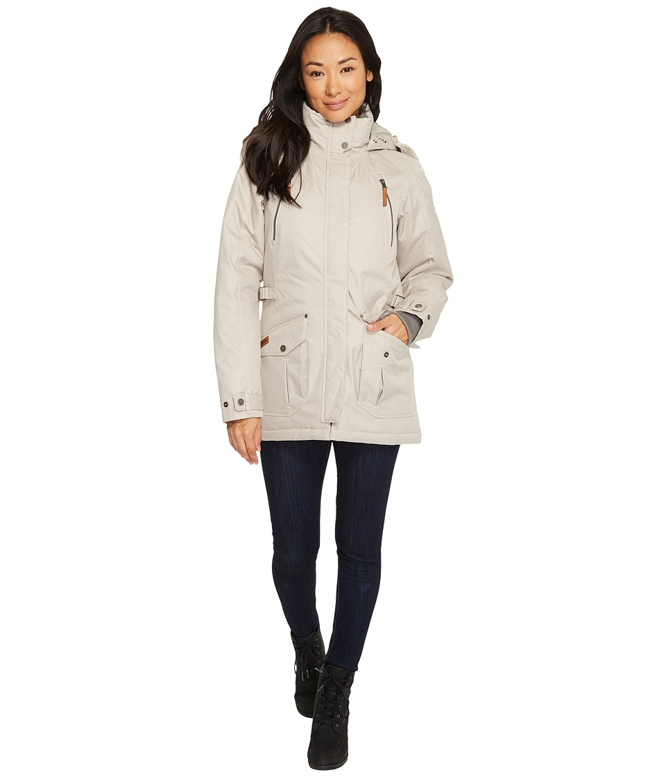 Columbia Barlow Pass 550 TurboDowntm Jacket (Light Cloud) Women