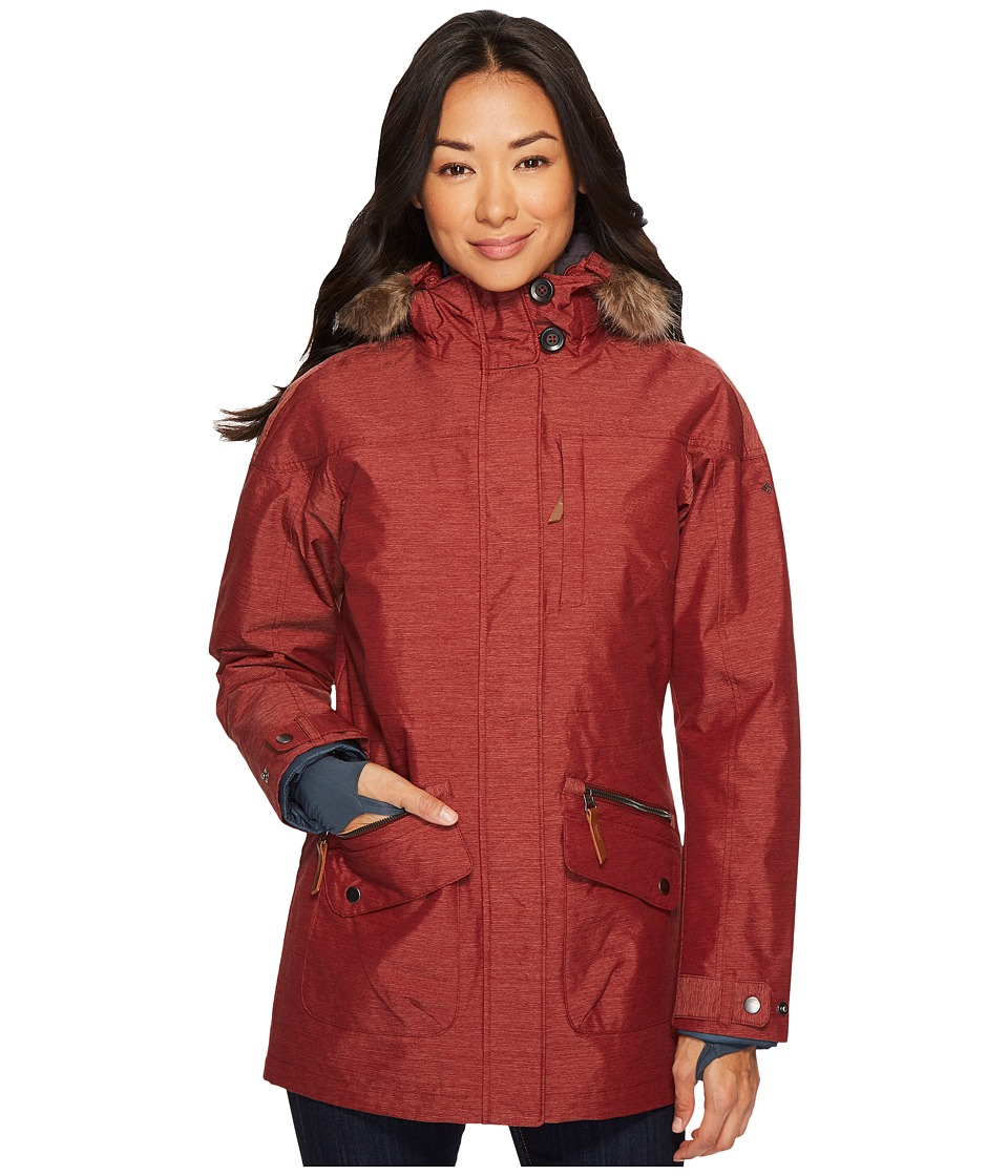 Columbia Carson Pass IC Jacket (Deep Rust) Women
