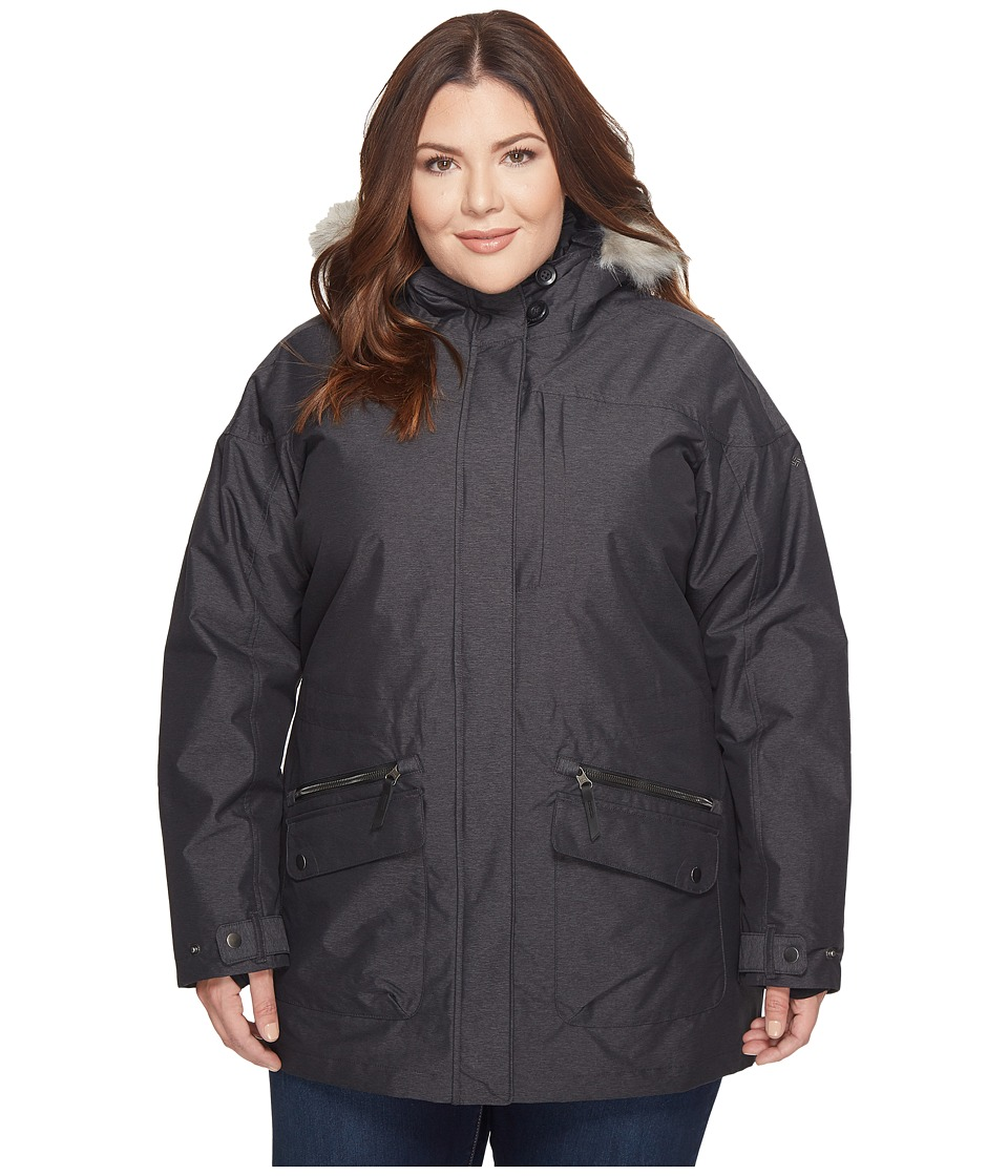 Columbia Plus Size Carson Pass IC Jacket (Black) Women