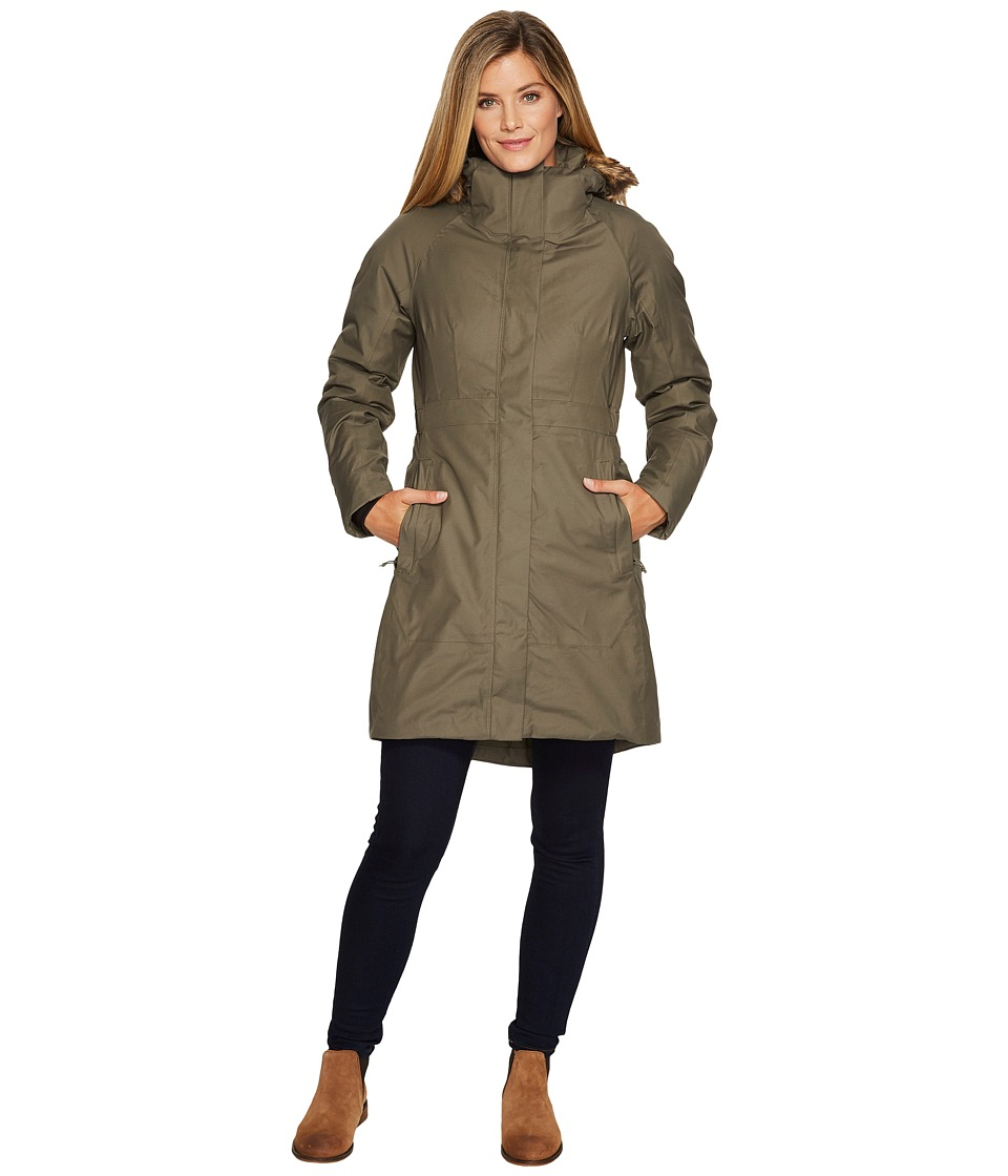 North Face Arctic Parka II (New Taupe Green) Women's Coat