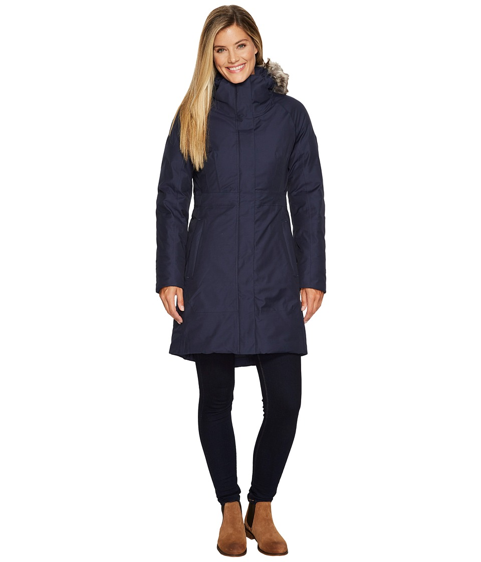 North Face Arctic Parka II (Urban Navy) Women's Coat