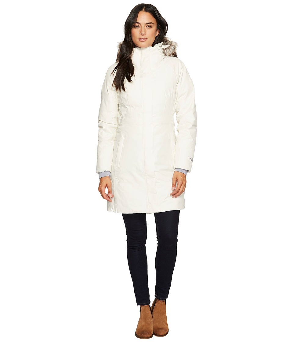 North Face Arctic Parka II (Vintage White) Women's Coat