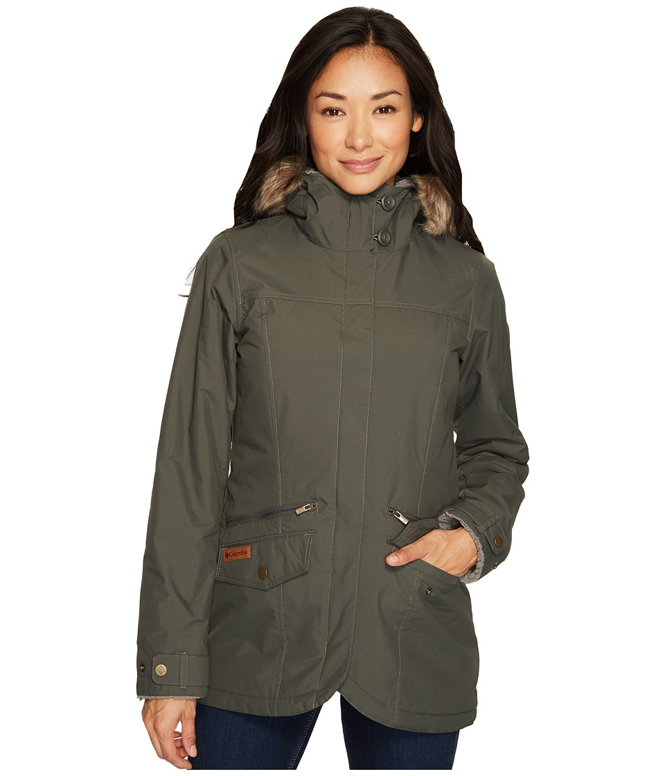 Columbia Grandeur Peak Mid Jacket (Gravel) Women