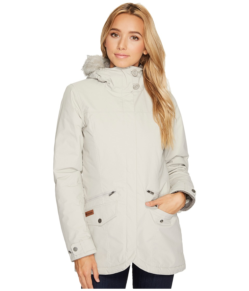 Columbia Grandeur Peak Mid Jacket (Light Cloud) Women
