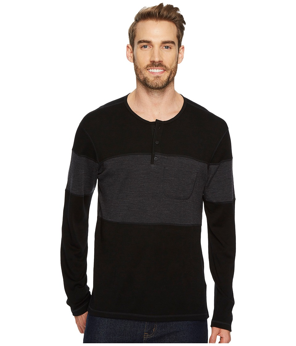 Smartwool Merino 250 Henley (Black) Men