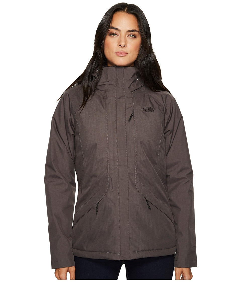 North Face Inlux Insulated Jacket (Asphalt Grey) Women's ...