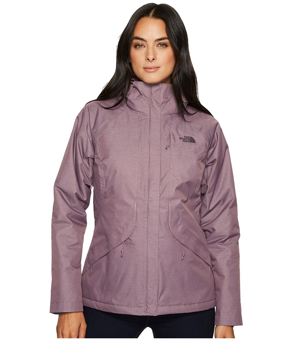 North Face Inlux Insulated Jacket (Black Plum Heather) Wo...