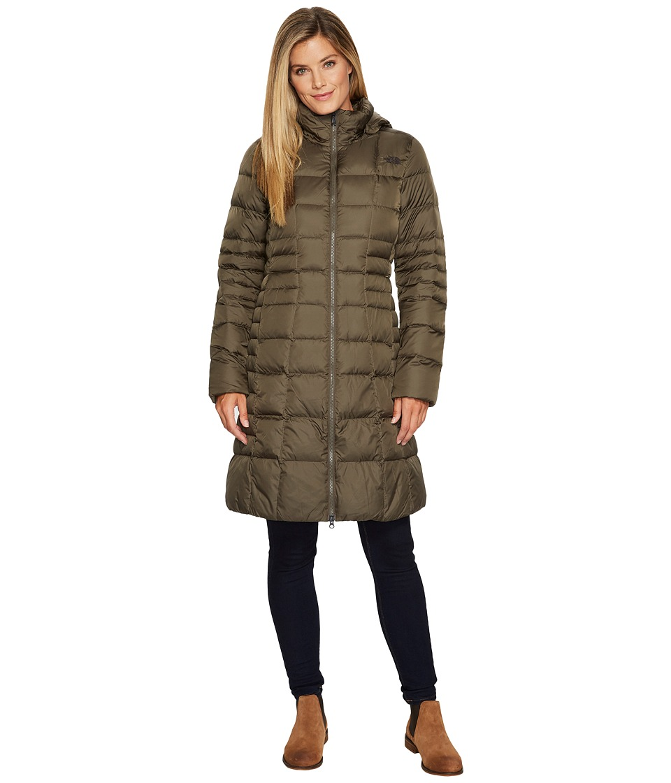 The North Face - Metropolis Parka II (New Taupe Green) Womens Coat