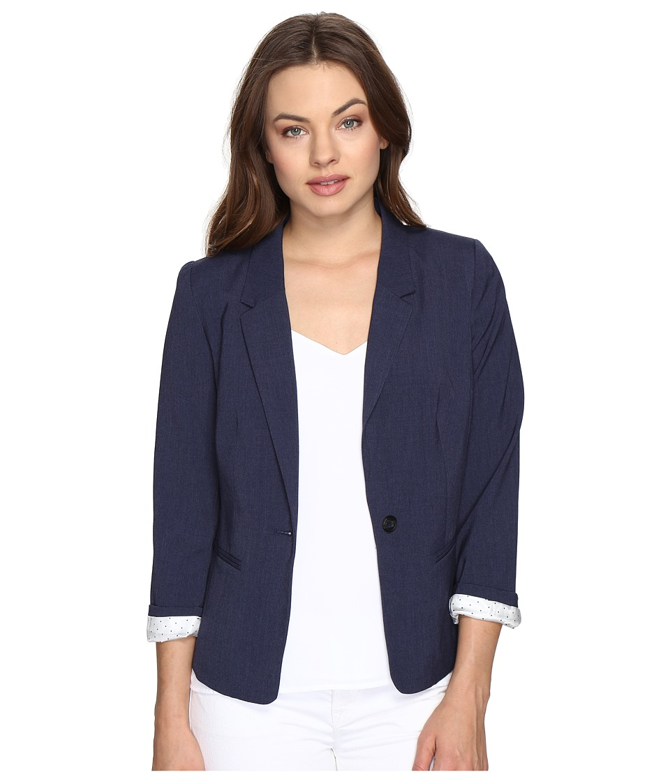 kensie - Heather Stretch Crepe Blazer KS2K2S54