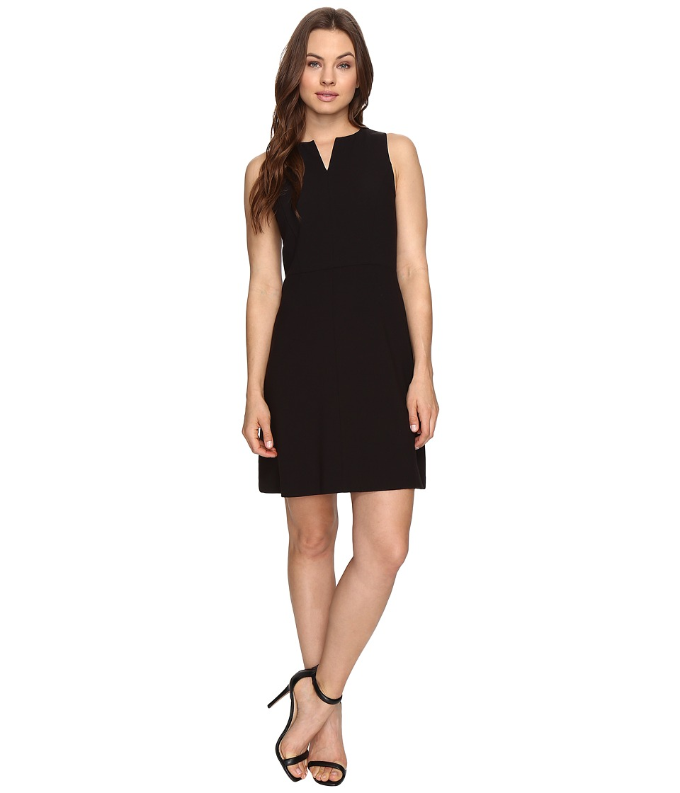 kensie Stretch Crepe Dress KS3K928S (Black) Women
