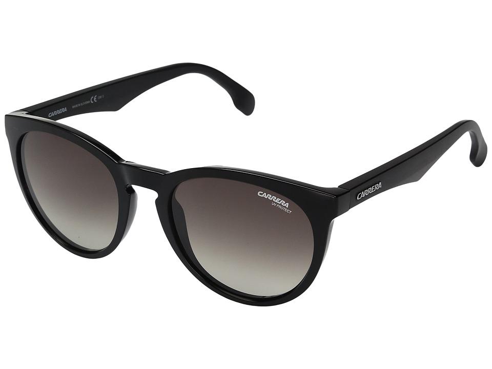 Carrera - Carrera 5040/S (Black with Brown Gradient Lens) Fashion Sunglasses