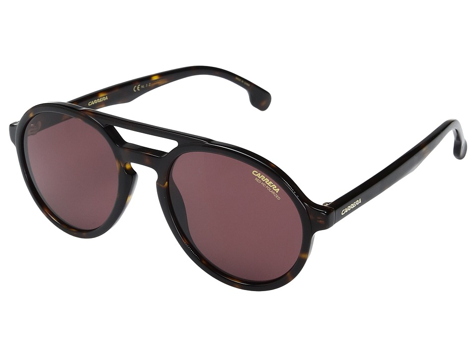 Carrera - Carrera Pace/S (Havana with Burgundy Polar Lens) Fashion Sunglasses