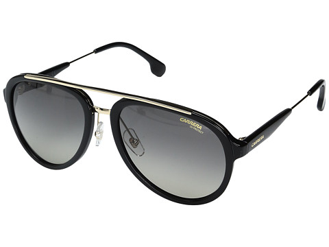 Carrera Carrera 132/S - Black/Gold with Gray/Brown Lens