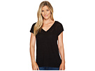 B Collection by Bobeau Janet Front Pleat T-Shirt