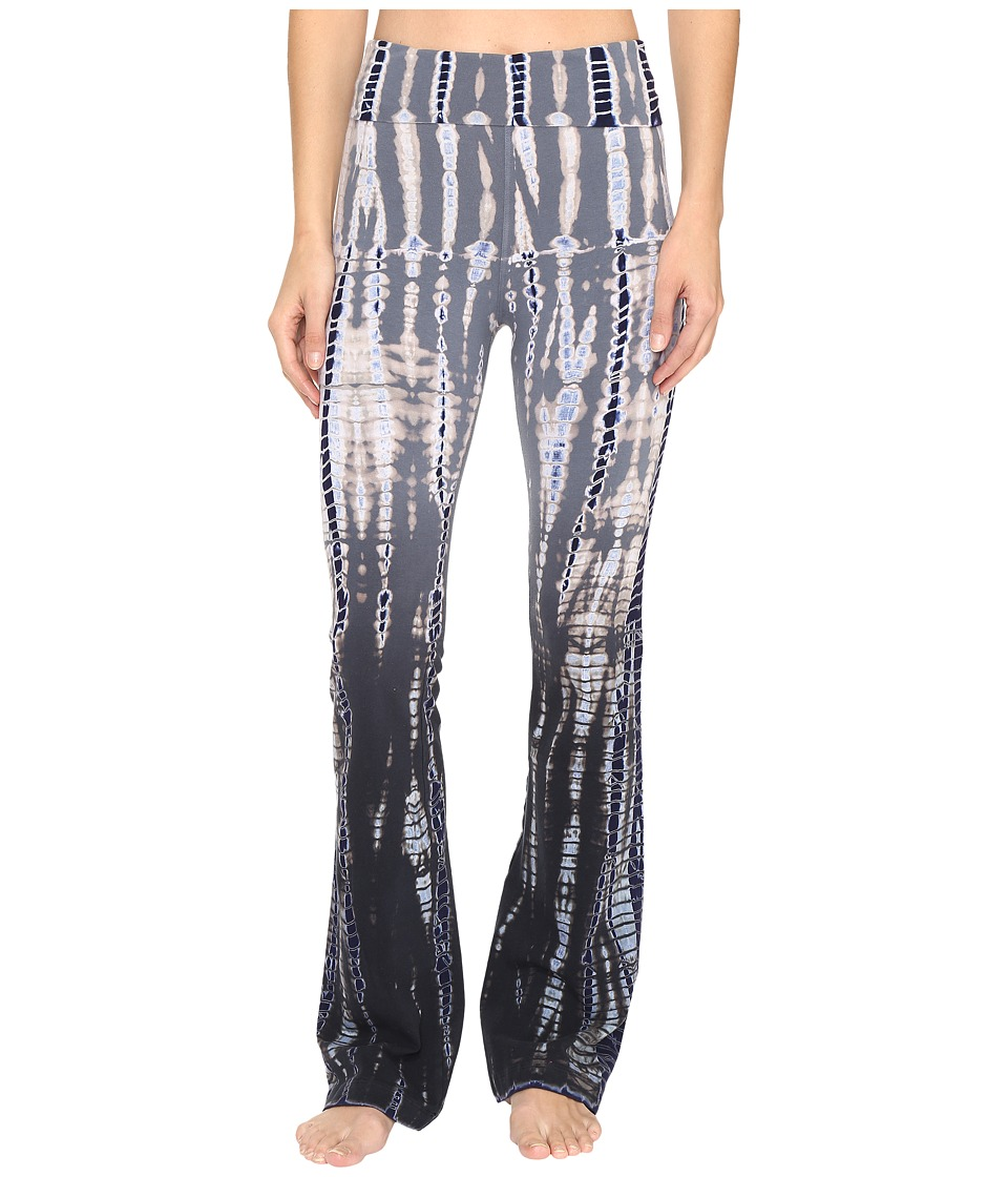 Hard Tail Rolldown Bootleg Flare Pants (Lizard Ombre 1) Women
