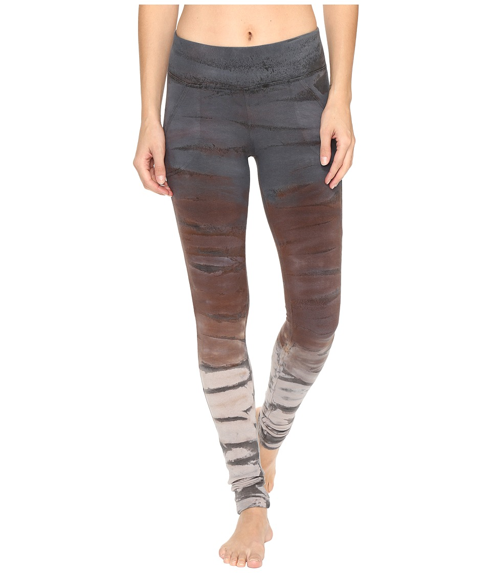 Hard Tail Slash Pocket Leggings (Rainbow Horizon 38) Women