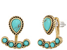 Lucky Brand - Turquoise Earrings Jacket