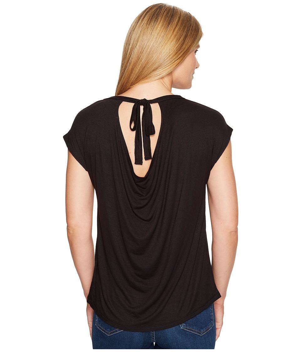 B Collection by Bobeau - Drape Back Knit Top