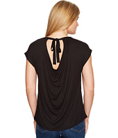 B Collection by Bobeau - Drape Back Knit Top
