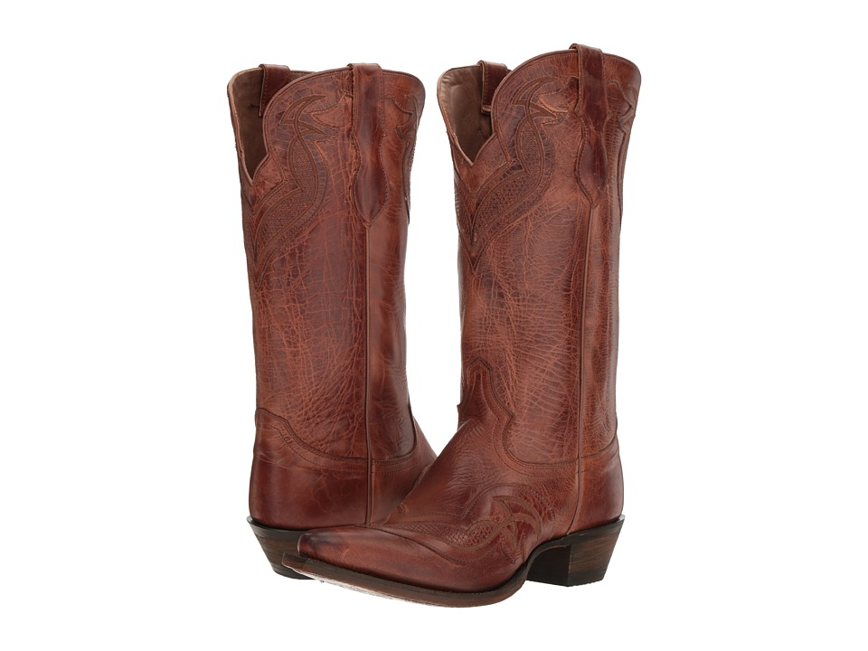 Justin - Nadya (Cognac) Cowboy Boots