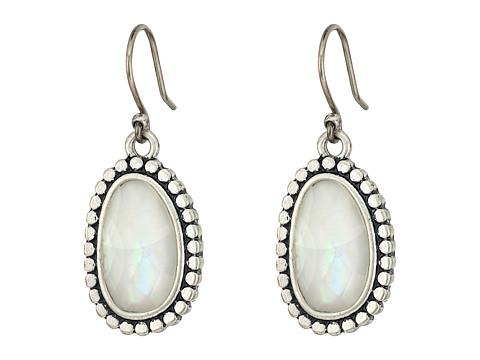 Lucky Brand Mother-of-Pearl Drop Earrings II - Silver