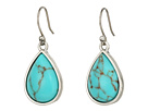 Lucky Brand - Basic Turquoise Drop Earrings
