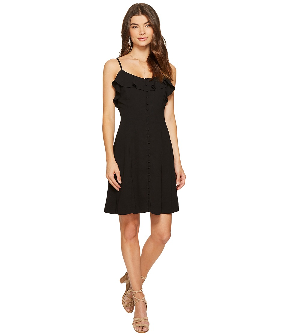 kensie Luxury Crepe Dress KS7K7972 (Black) Women