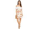 kensie - Botanical Floral Cold Shoulder Dress KS7K7200