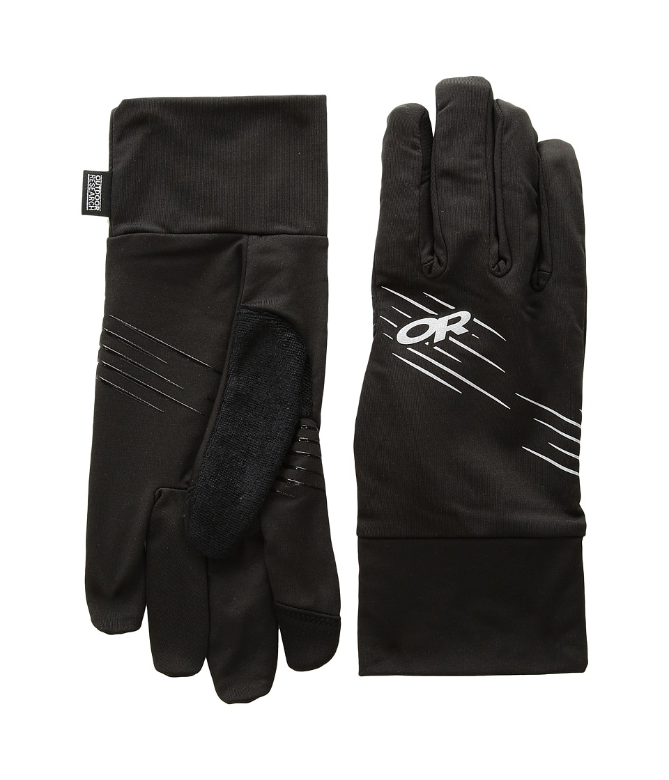 Outdoor Research Surge Sensor Gloves (Black) Ski Gloves