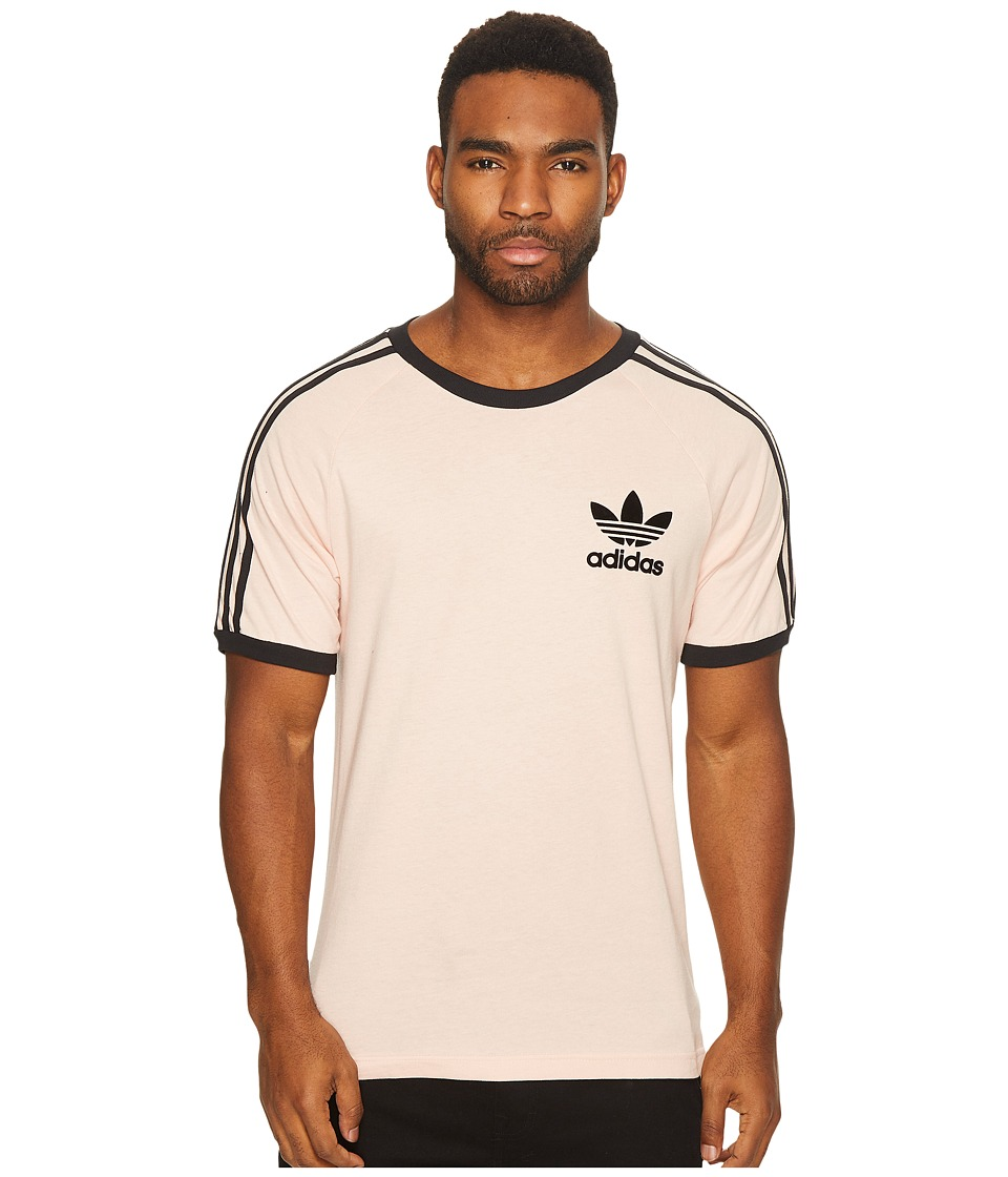 adidas Originals California Tee (Vapour Pink/Black) Men