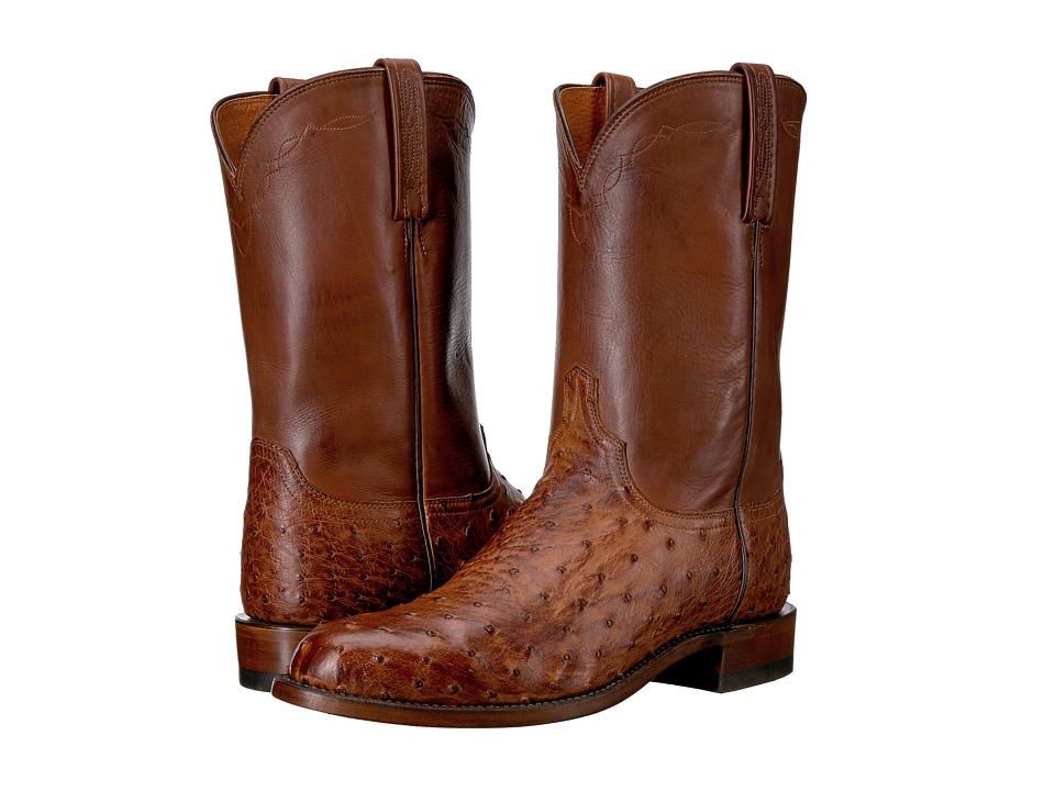 Lucchese - Zane (Barnwood) Cowboy Boots