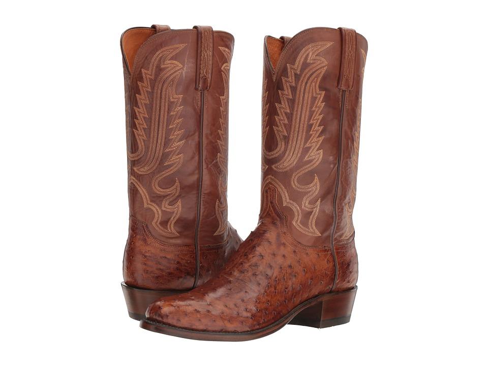 Lucchese - Hueco (Barnwood) Cowboy Boots