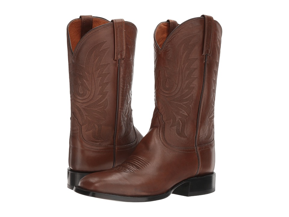 Lucchese Jason (Antique Brown) Cowboy Boots