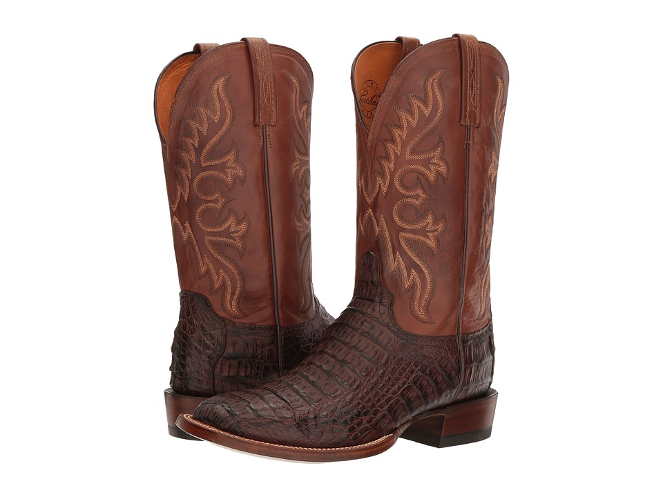Lucchese - Chavez (Barrel Brown) Cowboy Boots