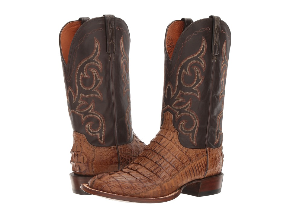 Lucchese Mission (Tan Burnished) Cowboy Boots