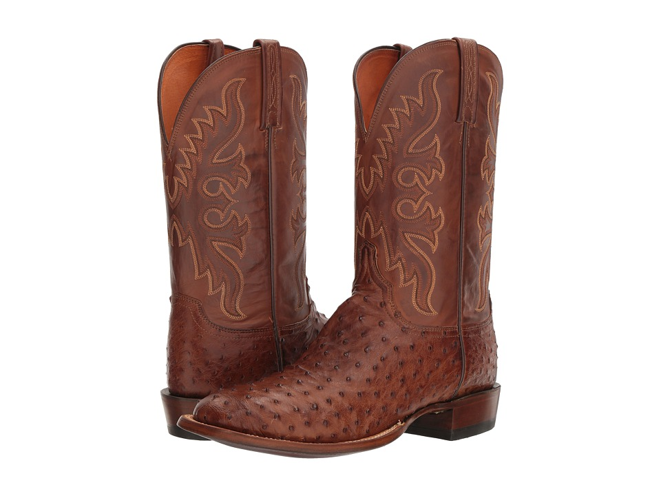 Lucchese - Camino (Barnwood) Cowboy Boots
