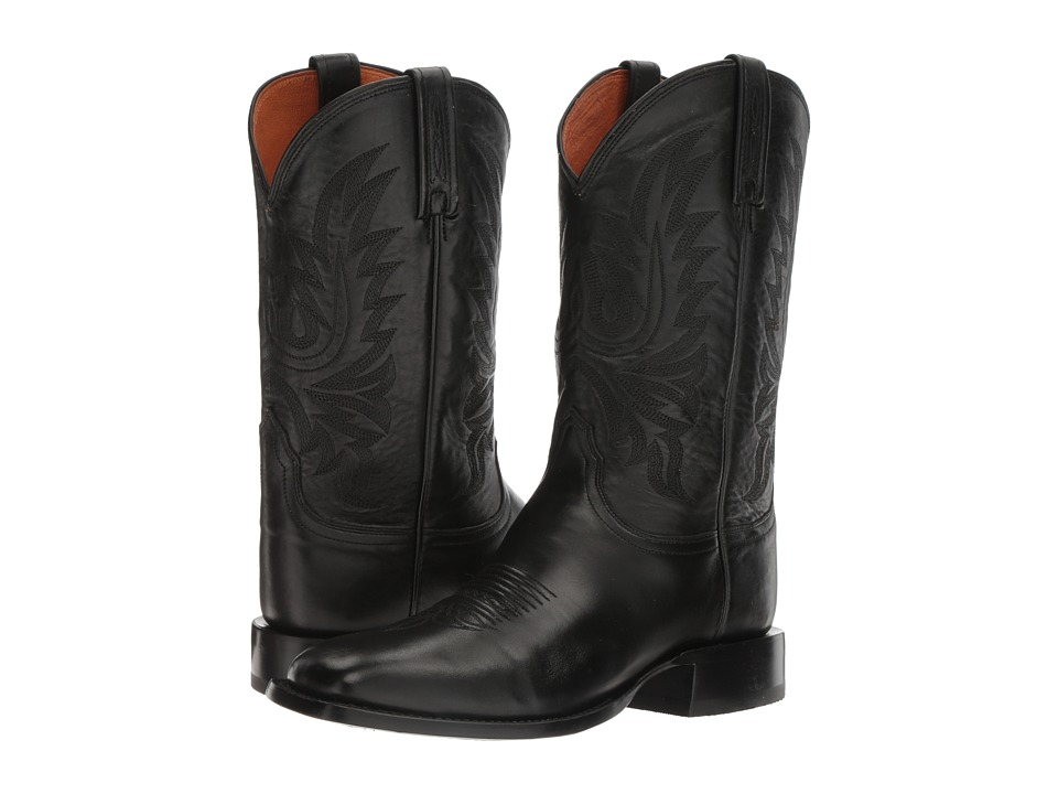 Lucchese - Jason (Black) Cowboy Boots