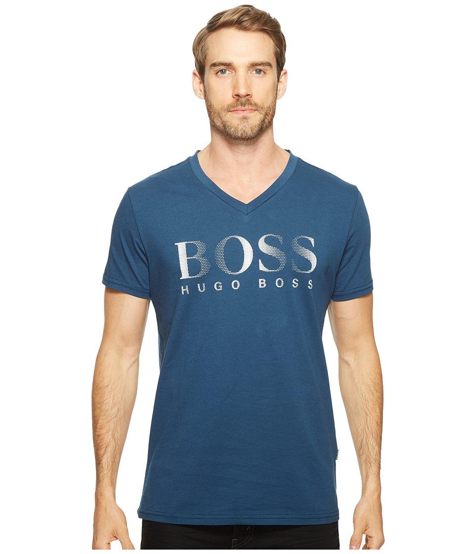 BOSS Hugo Boss T-Shirt V-Neck 10144419 (Navy) Men