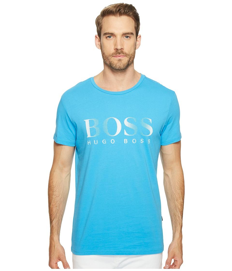 BOSS Hugo Boss T-Shirt Round Neck 10144419 (Light Blue) Men