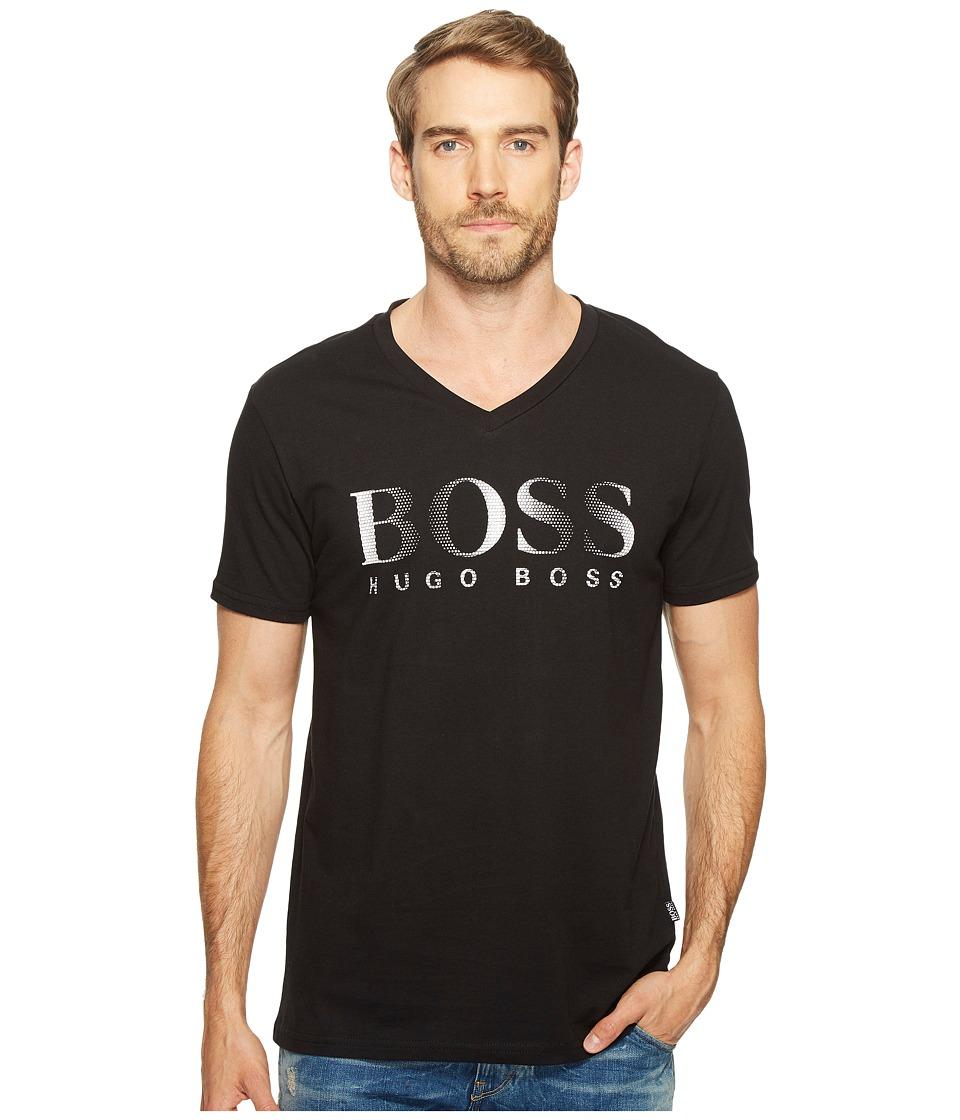 BOSS Hugo Boss T-Shirt V-Neck 10144419 (Black) Men