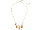 The Sak Layered Frontal Necklace 16