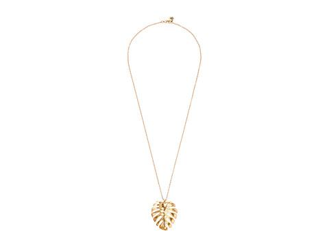 The Sak Large Leaf Pendant Necklace 28