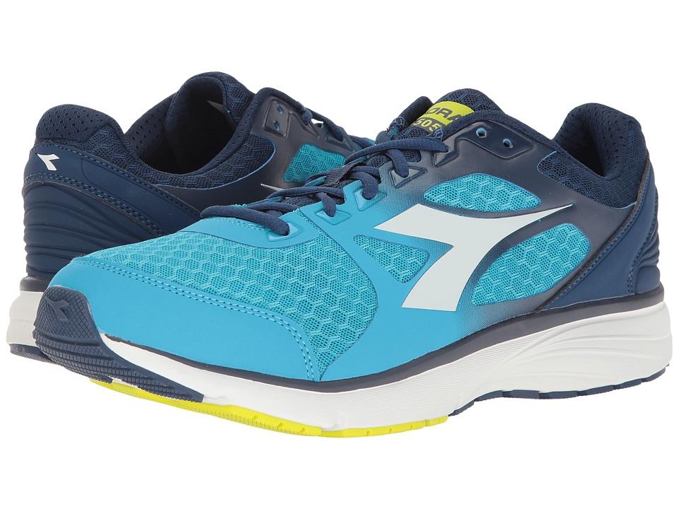 Diadora Run 505 (Blue Fluo/White) Men