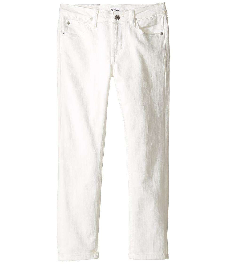 Hudson Kids Jagger Slim Straight Five-Pocket in White (Toddler/Little Kids/Big Kids) (White) Boy