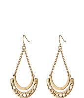 The Sak - Metal Hinge Trapeze Earrings