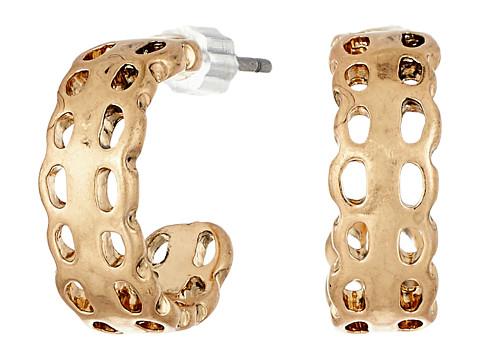 The Sak Baby J Hoop Earrings - Gold